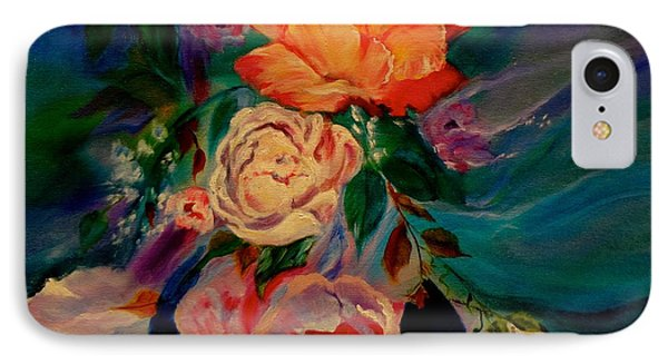 IPhone Case featuring the painting Roses Roses Roses by Jenny Lee