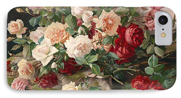 Roses Still Life IPhone Case by Mountain Dreams