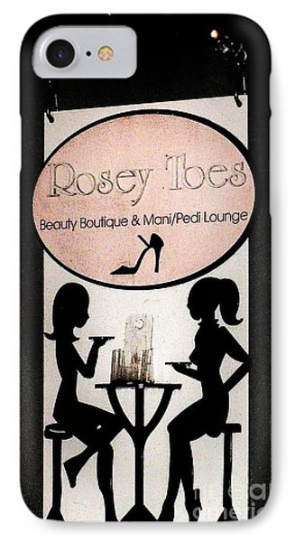 Rosey Toes IPhone Case