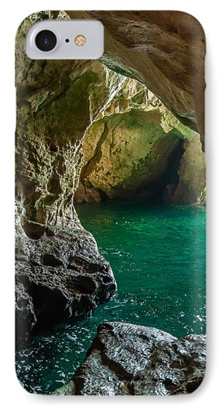 Rosh Hanikra Grottoes IPhone Case by Sergey Simanovsky