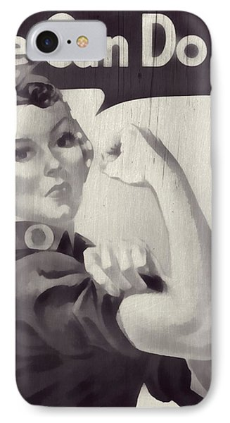 Rosie The Riveter IPhone Case