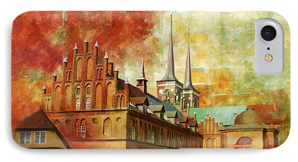 Roskilde Cathedral Phone Case by Catf
