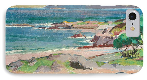 Ross Of Mull From Traigh Mhor IPhone Case by Francis Campbell Boileau Cadell