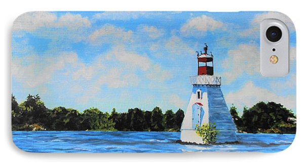 Rosseau Lighthouse IPhone Case by Diane Arlitt