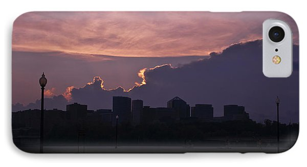 Rosslyn Skyline IPhone Case by Deborah Klubertanz