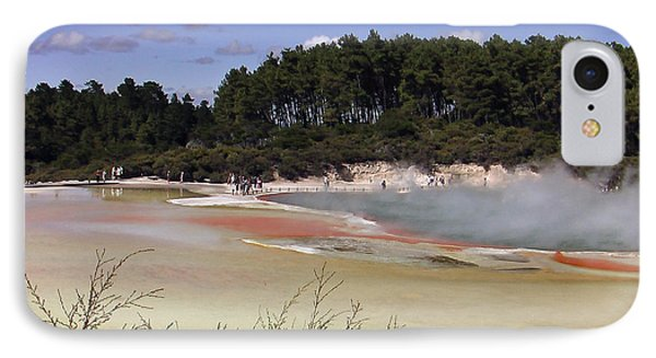 Rotorua New Zealand 3 IPhone Case by Mariusz Kula
