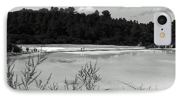 IPhone Case featuring the photograph Rotorua New Zealand 4 Bw by Mariusz Kula