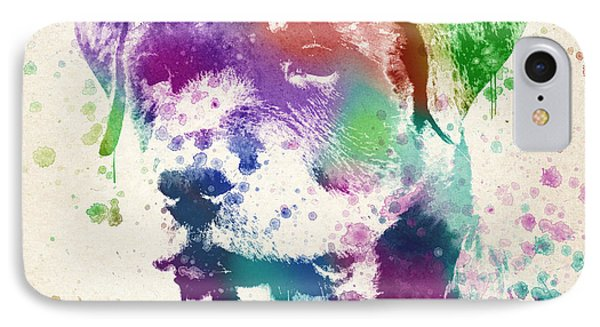 Rottweiler Splash IPhone Case