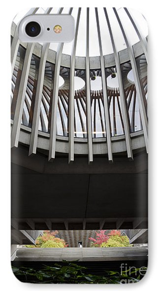 IPhone Case featuring the photograph Rotunda View In Autumn by Maria Janicki