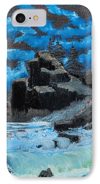 Rough Seas Phone Case by Dave Atkins