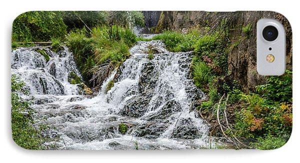 Roughlock Falls South Dakota IPhone Case by Debra Martz