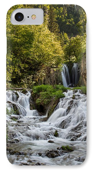 IPhone Case featuring the photograph Roughlock Falls South Dakota by Patti Deters