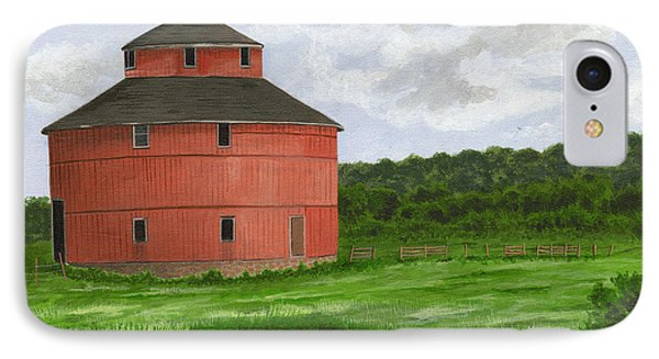 Round Barn IPhone Case