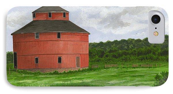 Round Barn IPhone Case by Dustin Miller
