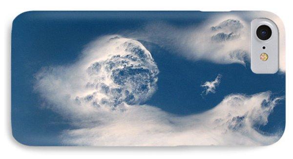 Round Clouds IPhone Case by Leone Lund