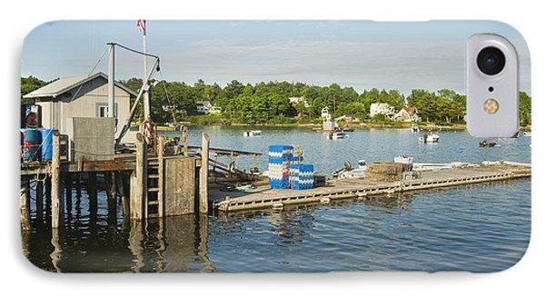 Round Pond On The Coast Of Maine IPhone Case