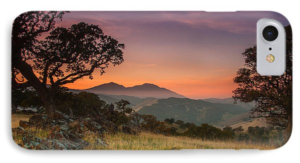Round Valley After Sunset IPhone Case