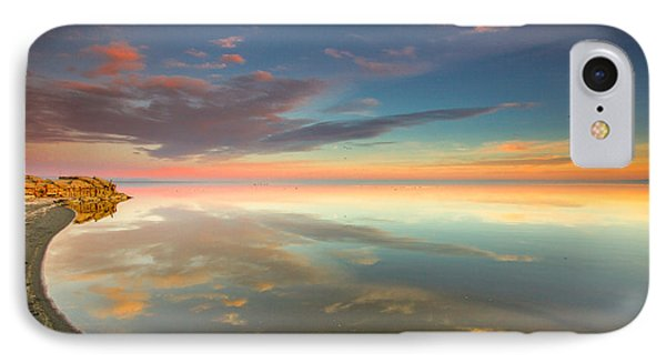 IPhone Case featuring the photograph Rounded Reflections by Robert  Aycock