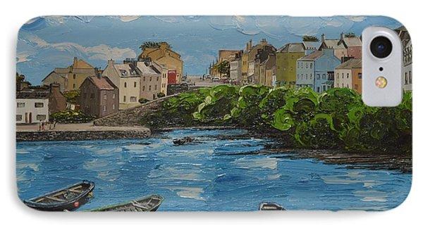 Roundstone Harbour Connemara Ireland IPhone Case