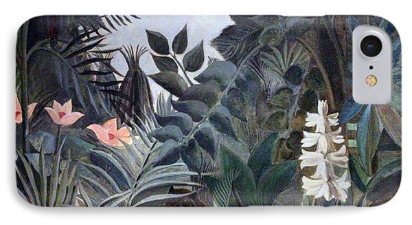 Rousseau's The Equatorial Jungle IPhone Case by Cora Wandel