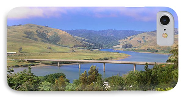 Route 1, Bridge Over Russian River IPhone Case by Panoramic Images