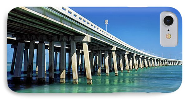 Route 1 Overseas Highway, Bahia Honda IPhone Case by Panoramic Images