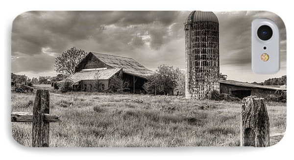 Route 213 Black And White IPhone Case by JC Findley