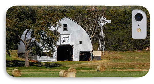Route 66 Barn IPhone Case by Doug Long