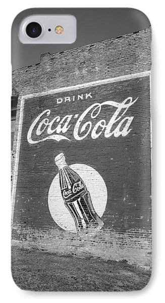 Route 66 - Coca Cola Ghost Mural Phone Case by Frank Romeo