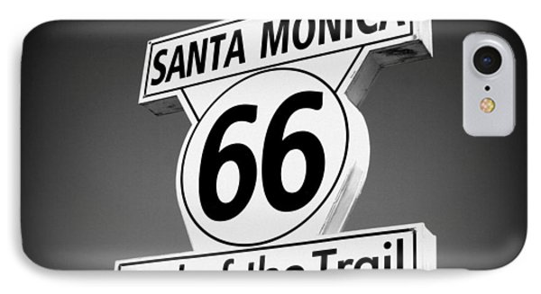 Route 66 IPhone Case by David Nicholls