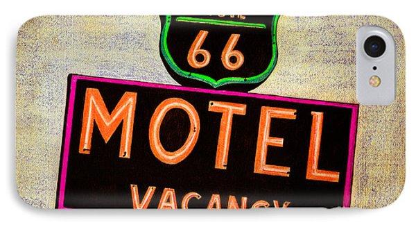 Route 66 Drawing Phone Case by Dan Julien