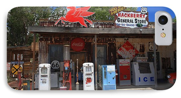 Route 66 - Hackberry General Store Phone Case by Frank Romeo