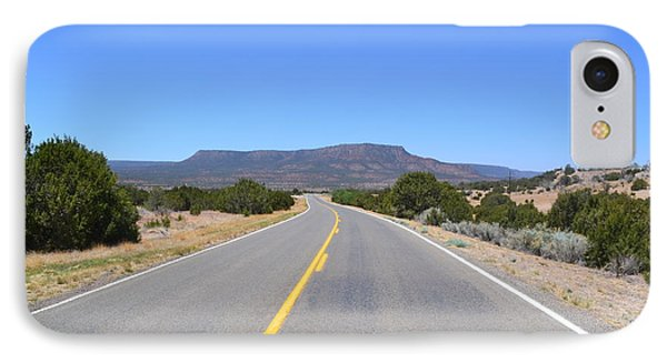 IPhone Case featuring the photograph Route 66 In New Mexico by Utopia Concepts