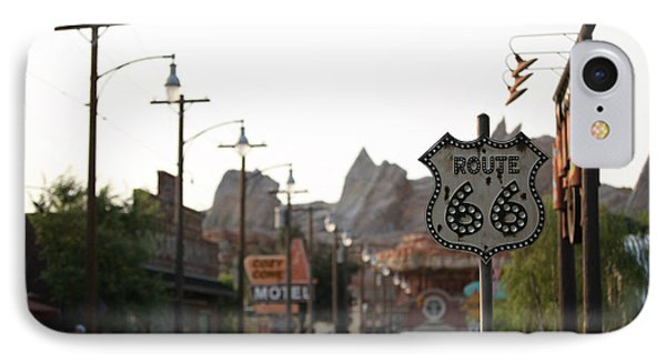 IPhone Case featuring the photograph Route 66 by Michael Albright