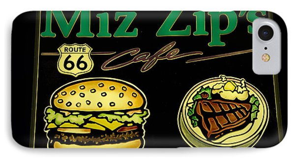 Route 66 Miz Zips Phone Case by Bob Christopher