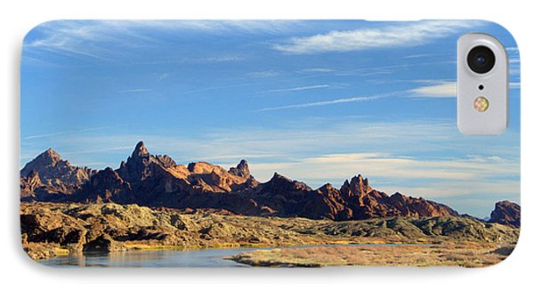 Route 66 Needles Mtn Range Two  Sold IPhone Case by Antonia Citrino