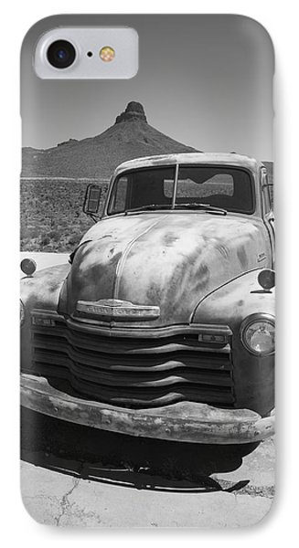 Route 66 - Old Chevy Pickup Phone Case by Frank Romeo