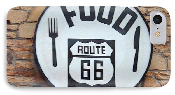 Route 66 Restaurant  Phone Case by Cynthia Guinn