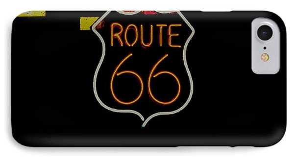 Route 66 Revisited IPhone Case by Kelly Awad