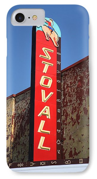 Route 66 - Stovall Theater IPhone Case