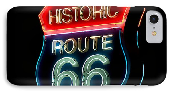 Route 66 Phone Case by Theodore Clutter