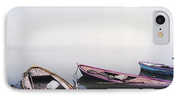 Row Boats In A River, Ganges River IPhone Case