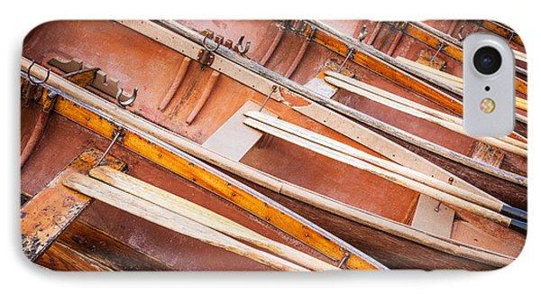 Row Boats IPhone Case by Stefan Nielsen