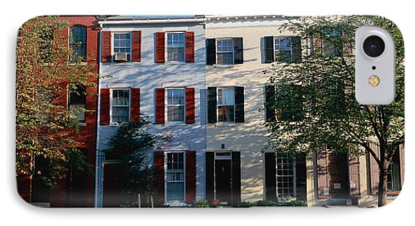 Row Homes, Philadelphia IPhone Case by Panoramic Images
