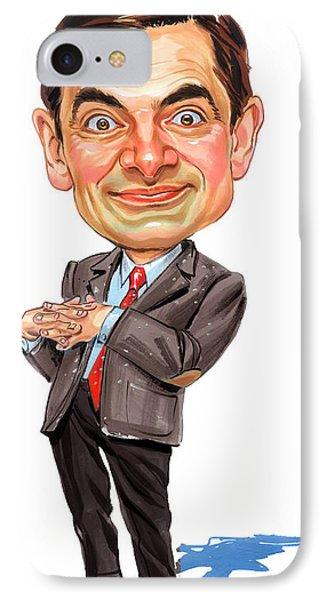 Rowan Atkinson As Mr. Bean IPhone Case by Art