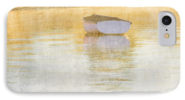 Rowboat In The Summer Sun IPhone Case by Carol Leigh