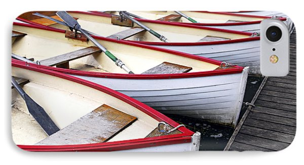 Rowboats IPhone 7 Case by Elena Elisseeva