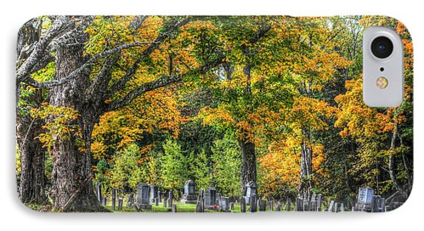 Rowell Cemetery IPhone Case by John Nielsen