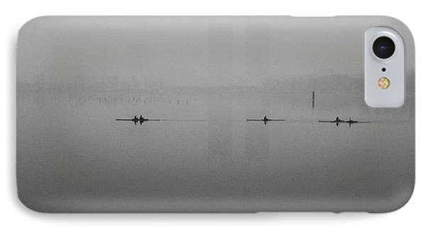 Rowers On The Lake IPhone Case