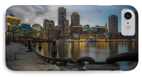 Rowes Wharf In January IPhone Case